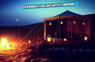 overnight safari dubai